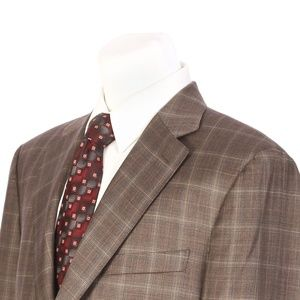Canali Two Button Full Canvas Italian Sport Coat